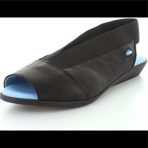 Cloud Caliber Slingback Sandal 10.5/ 42 black